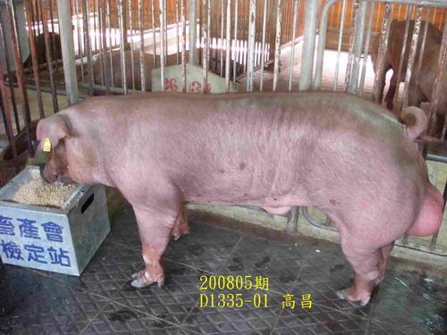 中央畜產會200805期D1335-01拍賣照片