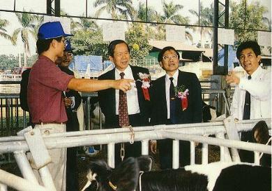 第五屆乳牛比賽拍賣會