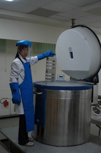 種原中心DNA移地備份設施
