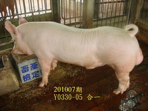 中央畜產會201007期Y0330-05拍賣照片