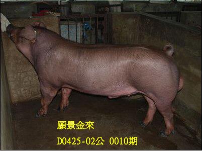 台灣動物科技研究所竹南檢定站10010期D0425-02拍賣相片