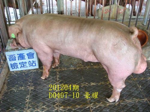 中央畜產會201204期D0407-10拍賣照片