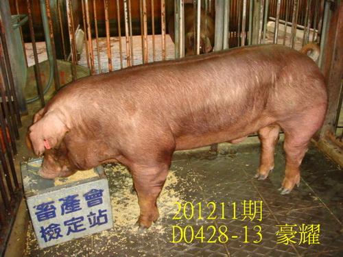中央畜產會201211期D0428-13拍賣照片