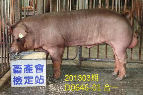 中央畜產會201303期D0646-01拍賣照片