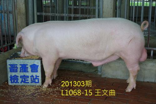 中央畜產會201303期L1068-15拍賣照片