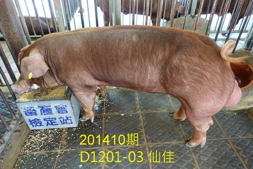 中央畜產會201410期D1201-03拍賣照片