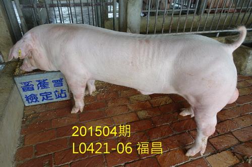 中央畜產會201504期L0421-06拍賣照片
