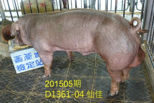 中央畜產會201505期D1361-04拍賣照片