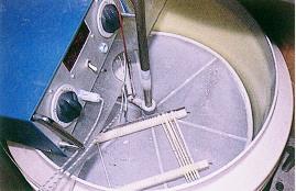 水牛配種 -水牛冷凍精液由新竹分所製作(畜產種原庫及基因交流p42)