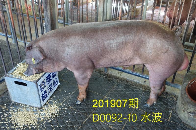 中央畜產會201907期D0092-10拍賣照片