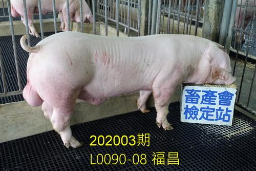 中央畜產會202003期L0090-08拍賣照片